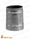 150mm>120mm Paslanmaz Çelik Baca Redüksiyonu