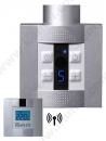 AKSA Klas 4.0 Elektrikli Havlupan Isıtıcı SİLVER 400W + Kablosuz Ortam Termostatı