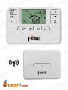 Ferroli Romeo W RF Kablosuz Haftalık Program Saatli Dijital Oda Termostatı