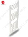 SANPAN Oval Beyaz Havlupan Havluluk Havlu Kurutucu Radyatör 50x110cm