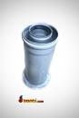 AKSA 25cm Buderus Bosch Kombi üstü Hermetik Konvansiyonel Yükseltme (60/100) Muflu